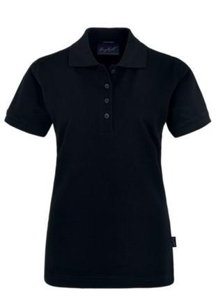 Классическая черная футболка поло harry kroll германия