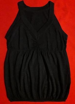 Майка блуза с кашемиром и шерстью мерино
