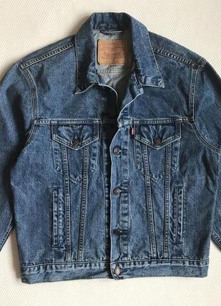 Джинсовая куртка levis размер м-l