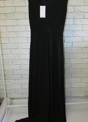 Длинное платье для особых случаев mango suit7 фото