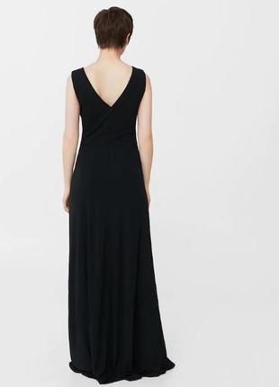 Длинное платье для особых случаев mango suit2 фото