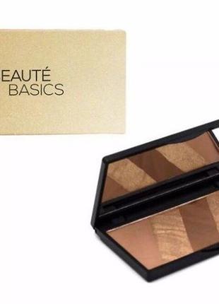 Бронзер и хайлайтер beauty basics bronze essentials 2017