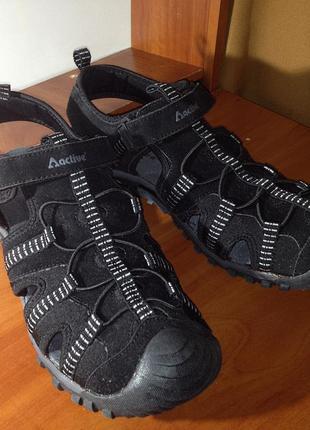 Active чёрные сандалии