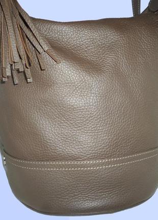 Шикарная большая сумка трансфомер рюкзак высококачественная натуральная зернистая кожа