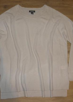 Базовый нюдовый свитер primark