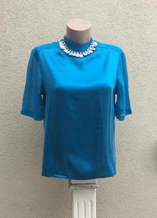 Шелковая блуза,кофточка ,jigsaw