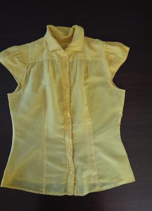 Блузка из шелка united colors of benetton