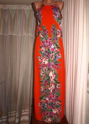 Красочный сарафан в пол (хл замеры)
