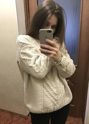 Плюшевый велюровый свитер primark