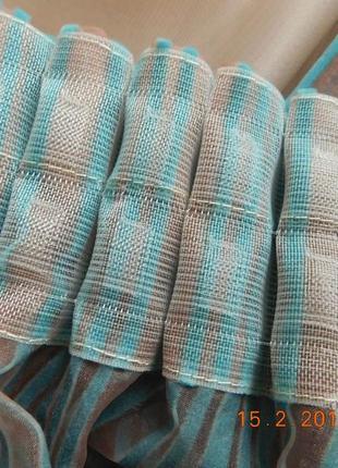 Декоративные шторы. тюль с флоком6