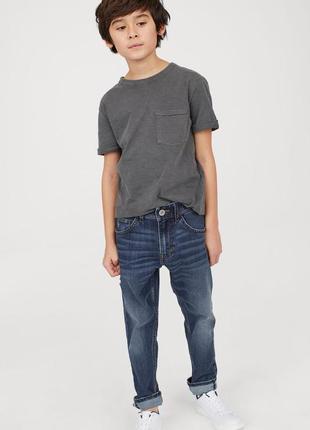 Модные джинсы мальчику подростку от h&m. размер будет на рост 158-164 см
