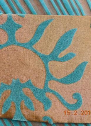 Декоративные шторы. тюль с флоком9 фото
