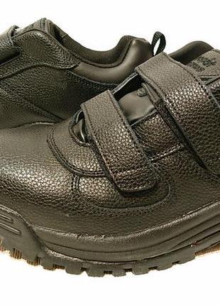 Мужские ботинки us10 наш 42р широкая стопа диабет стопа extra wide ортопедическая обувь