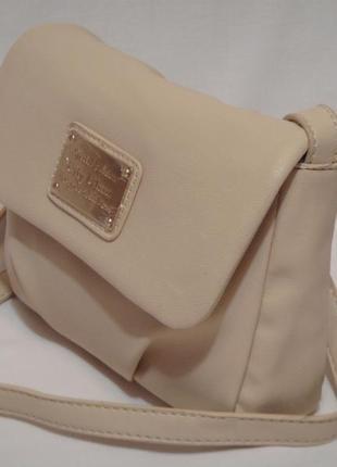 Новая, с биркой, нежная сумка через плечо,  кроссбоди от бренда oodji