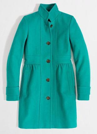 Трендовое пальто j. crew factory coat, л-хл новое шерсть