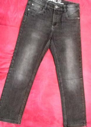Модные джинсы из англии  мальчику подростку от pepperts. размер   на 11- 12 лет2