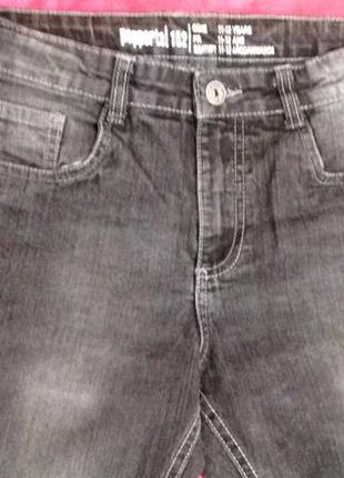 Модные джинсы из англии  мальчику подростку от pepperts. размер   на 11- 12 лет3