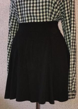 Трикотажная юбка солнцеклеш