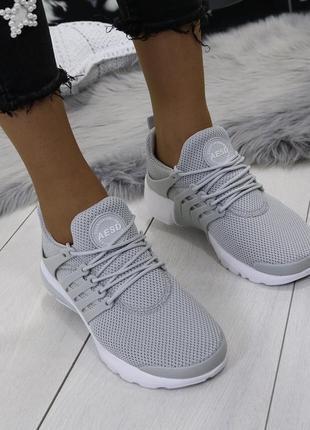 Новые серые кроссовки размер 36-41
