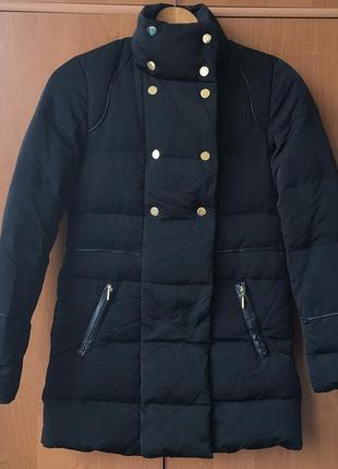 Пуховик пуховая куртка пальто женский курточка etam удлиненная парка одеяло