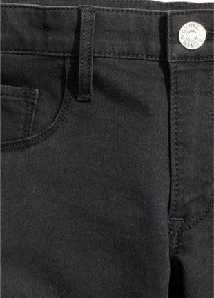 Оригинальные джинсы-skinny fit jeans от бренда h&m разм. 140 (9-10лет)4
