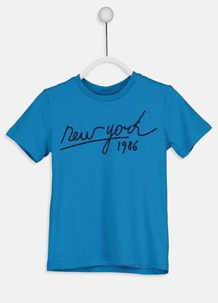16-126 lcw 134-140 футболка для мальчика