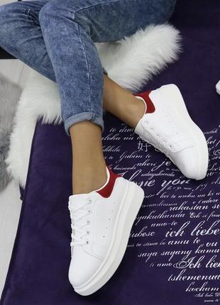 Новые белые кроссовки размер 36-40