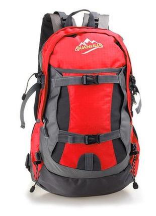 3-55 новый красный рюкзак туристический походный городской