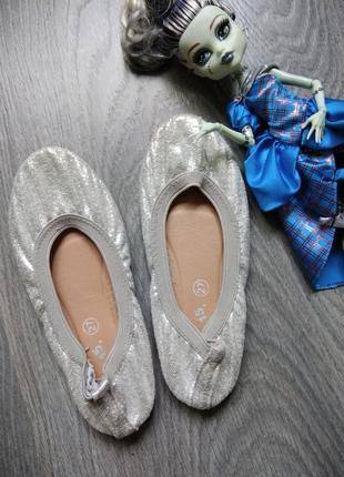 27p балетки чешки туфли для танцев