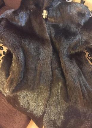 Продам шубу sandeli sagafurs степная норка