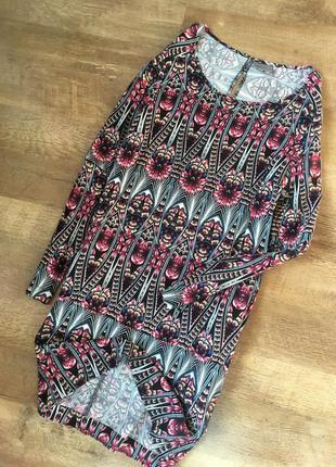 Платье вискоза с карманами