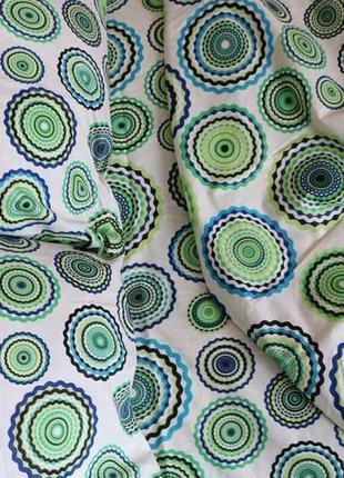 Постельный комплект зеленые круги абстракия