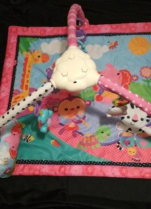 Розвиваючий коврик fitch baby jj8842 / развивающий коврик fitch baby