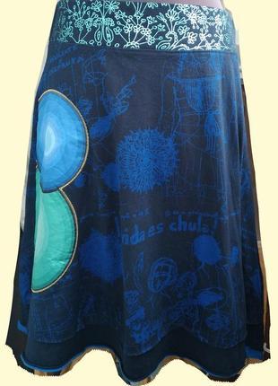 Яркая и стильная юбка бренда desigual