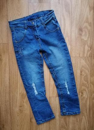 Стрейчевые джинсы topolino на 5 лет