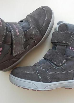 Зимние ботинки geox 35р 23см