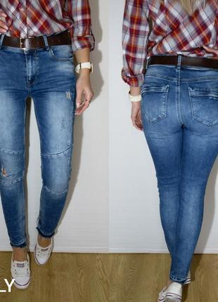 Крутые плотные джинсы only