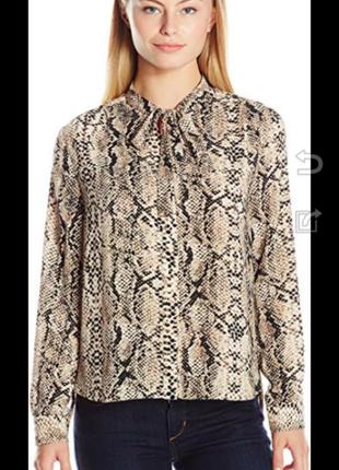 Блузка питон принт