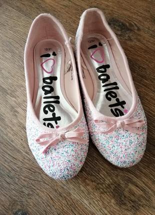 Красивые туфли matalan 31 разм 19 см стелька