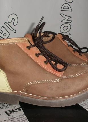 Демисезонные кожаные ботинки baren -schuhe  29 размера