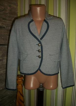 Стильный пиджак в полоску на 7 лет next некст турция