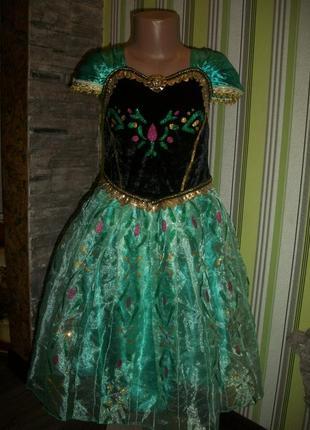 Шикарное платье frozen на рост 130см