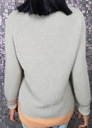 Классный уютный свитер. 50-52р2 фото