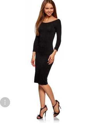 Платье футляр темно-серое