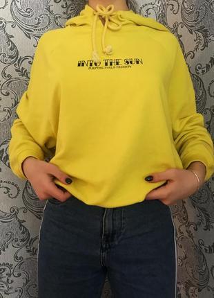 Жёлтое худи