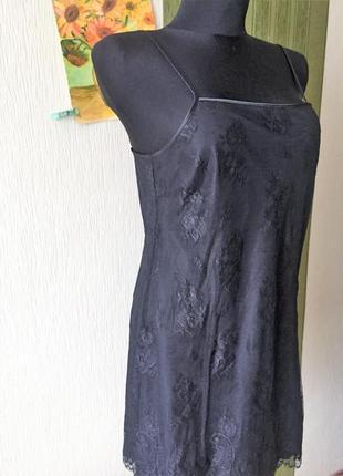 Кружевное платье -комбинация