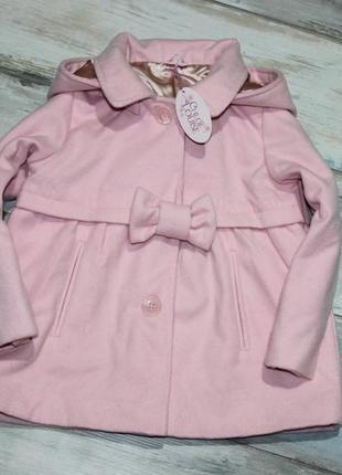 Пальто 6-7 лет chloe louise