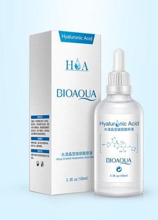 Гиалуроновая кислота 100мл bioaqua hyaluronic acid
