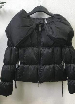 Осенняя пуховая куртка prato italy