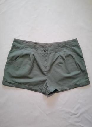 Хлопковые шорты хаки размер uk 16